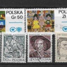 Sellos: POLONIA 1979 LOTE USADOS - 1/34. Lote 143777490