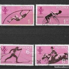 Sellos: POLONIA 1979 SC# 2323-2326 (4) USADOS - 1/34. Lote 143777558