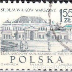 Sellos: 1965 - POLONIA - TURISMO - YVERT 1455. Lote 144178110