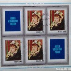 Sellos: POLONIA POLAND SELLO NUEVO DE 1971 PINTURA . Lote 144625538