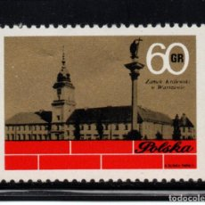 Sellos: POLONIA 1965** - AÑO 1971 - CASTILLO DE VARSOVIA. Lote 236435265