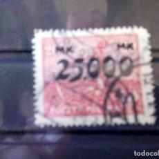 Sellos: POLONIA 1927, SEMBRADOR SOBRECARGA 25.000, YT 272. Lote 151092258
