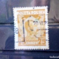 Sellos: POLONIA 1928, JOSEF PILDURSKI, YT 339. Lote 151094006