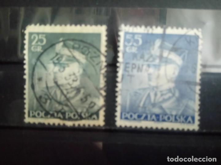 POLONIA 1937, MARISCAL SMIGLY RYDZ, YT 395/396 (Sellos - Extranjero - Europa - Polonia)