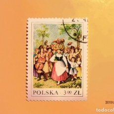 Sellos: POLONIA - TRAJES POPULARES.. Lote 151428458