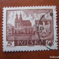 Sellos: POLONIA,1960 CIUDADES HISTORICAS, YVERT 1052. Lote 156837062