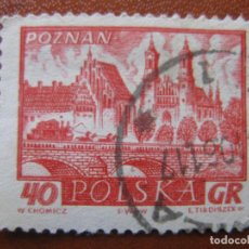 Sellos: POLONIA, 1960 CIUDADES HISTORICAS, YVERT 1055. Lote 156837130