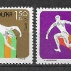 Sellos: POLONIA 1975 ** NUEVOS DEPORTES - 4/32. Lote 160433730