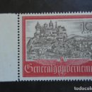 Sellos: POLONIA GENERAL GOUVERNEMENT 1941, YVERT 81**, MICHEL 65** , MNH SIN CHARNELA. Lote 161314318