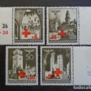 Sellos: POLONIA GENERAL GOUVERNEMENT 1941, YVERT 68-71, MICHEL 52-55 , SERIE COMPLETA. Lote 161315010
