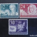 Sellos: POLONIA GENERAL GOUVERNEMENT 1940, YVERT 72-74*, MICHEL 56-58* , SERIE COMPLETA. Lote 161315450
