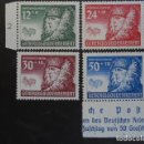 Sellos: POLONIA GENERAL GOUVERNEMENT 1940, YVERT 75-78, MICHEL 59-62 SERIE COMPLETA. Lote 161315722
