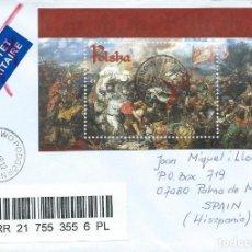 Sellos: 2010. POLONIA/POLAND. BATALLA DE GRUNWALD. PINTURA/PAINTING. ARTE/ART. HISTORIA/HISTORY.. Lote 161461558