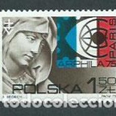 Sellos: POLONIA - CORREO 1975 YVERT 2206 ** MNH. Lote 163063670