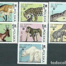 Sellos: POLONIA - CORREO 1978 YVERT 2414/20 ** MNH FAUNA. Lote 163064080