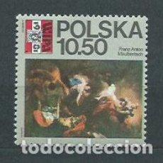 Sellos: POLONIA - CORREO 1981 YVERT 2552 ** MNH EXPOSICIÓN FILATELICA. Lote 163064308