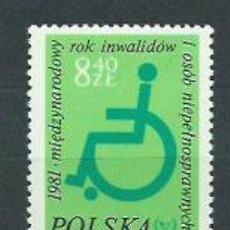 Sellos: POLONIA - CORREO 1981 YVERT 2579 ** MNH. Lote 163064332