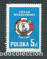 POLONIA - CORREO 1985 YVERT 2786 ** MNH (Sellos - Extranjero - Europa - Polonia)