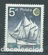 POLONIA - CORREO 1985 YVERT 2797 ** MNH BARCO (Sellos - Extranjero - Europa - Polonia)