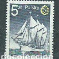 Sellos: POLONIA - CORREO 1985 YVERT 2797 ** MNH BARCO. Lote 163064700
