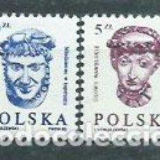 Sellos: POLONIA - CORREO 1985 YVERT 2798/9 ** MNH. Lote 163064704