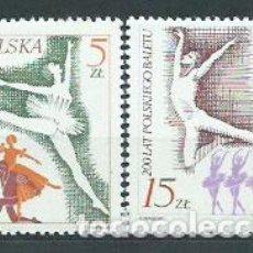 Sellos: POLONIA - CORREO 1985 YVERT 2816/7 ** MNH. Lote 163064728