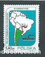 POLONIA - CORREO 1997 YVERT 3441 ** MNH BARCO (Sellos - Extranjero - Europa - Polonia)