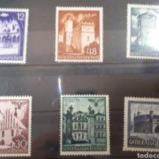 Sellos: SELLIS ALEMANIA GOBIERNO GENERAL POLONIA AÑO 1941 LOTE N. 439. Lote 171261249