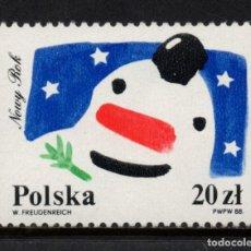Selos: POLONIA 2989** - AÑO 1988 - AÑO NUEVO. Lote 193770841