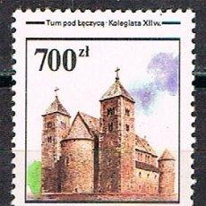 Sellos: POLONIA 3309. COLEGIATA DEL SIGLO XII, NUEVO ***. Lote 176279307
