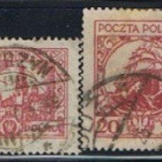 Sellos: (POL 109) SELLOS DE POLONIA // YVERT 313, 314, 315, 316, 318, 319 // 1925-26. Lote 180268821