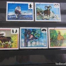 Sellos: POLONIA 1973 - 5 V. USADO. Lote 180278455