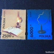Sellos: POLONIA Nº YVERT 3279/0*** AÑO 1994. EUROPA. EUROPA Y SUS DESCUBRIMIENTOS. Lote 180285413