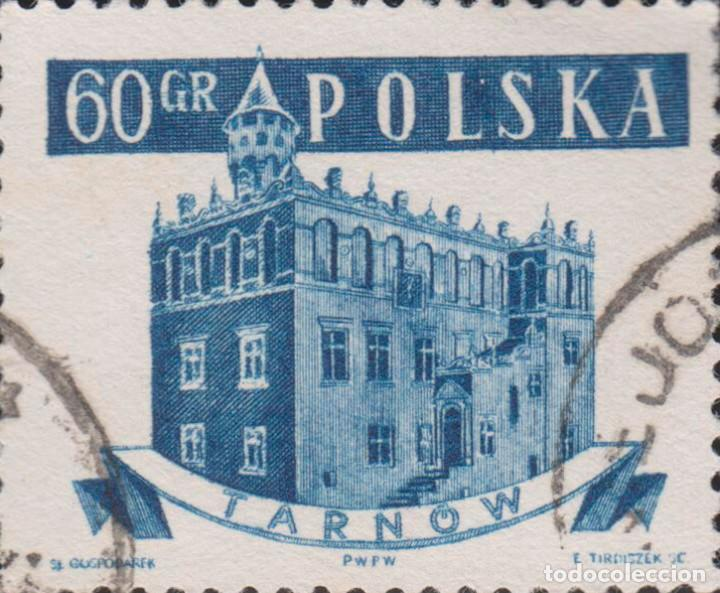 SELLO POLONIA POLSKA USADO FILATELIA CORREOS (Sellos - Extranjero - Europa - Polonia)