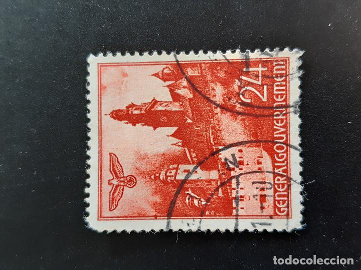 POLONIA GOBIERNO GENERAL OCUPACIÓN ALEMANA, YVERT 61 (Sellos - Extranjero - Europa - Polonia)