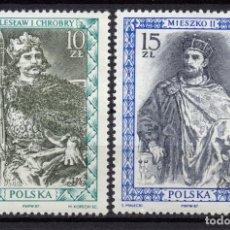 Selos: POLONIA 2938/39** - AÑO 1987 - REYES Y PRINCIPES POLACOS. Lote 187100828