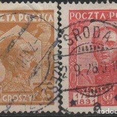 Sellos: LOTE M SELLOS POLONIA 1927. Lote 189686297