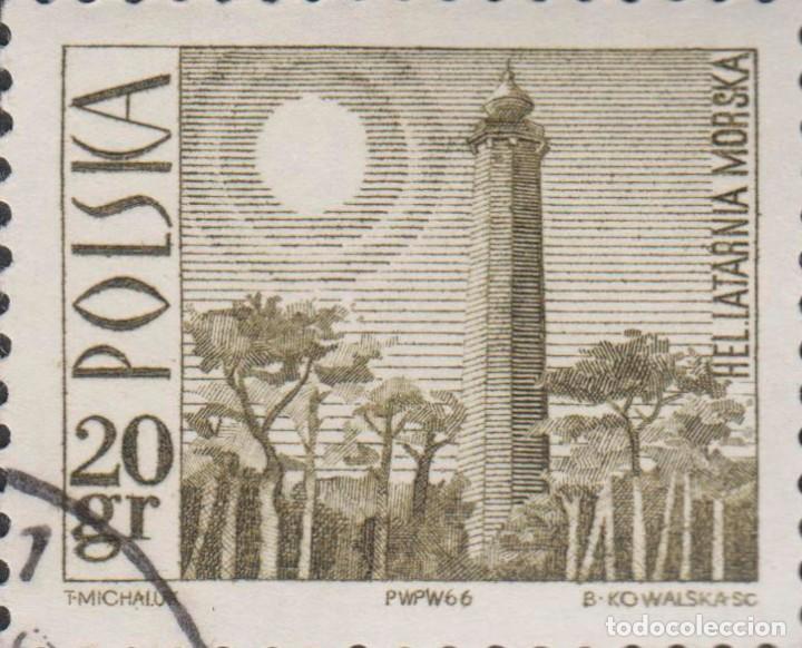 SELLO POLONIA POLSKA USADO FILATELIA CORREOS STAMP POST (Sellos - Extranjero - Europa - Polonia)