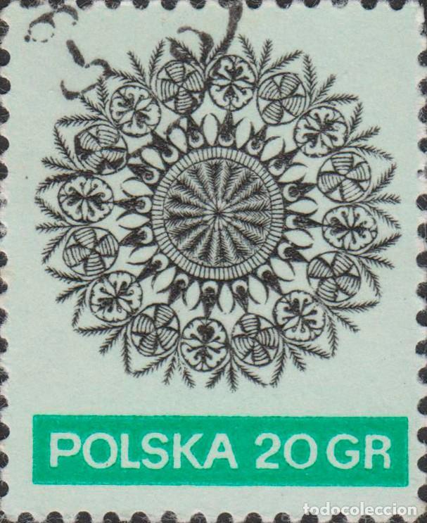 SELLO POLONIA POLSKA USADO FILATELIA CORREOS STAMP POST POSTAGE (Sellos - Extranjero - Europa - Polonia)
