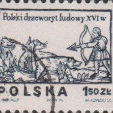 Sellos: SELLO POLONIA POLSKA USADO FILATELIA CORREOS STAMP POST POSTAGE. Lote 191940097