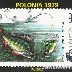 Sellos: POLONIA 1979 - PL 2617 - 1 SELLO NUEVO - TEMA PECES. Lote 194091538