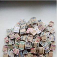 Sellos: GRAN LOTE DE POLONIA DE LA POSGUERRA 15,000 SELLOS EN BLOQUES DE 100. Lote 195004565