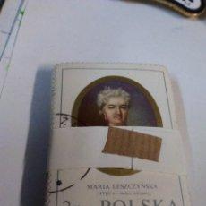 Sellos: TACO DE 100 SELLOS APROXIMADAMENTE POLSKA MARIA LESZCZYÑSKA XVIII. Lote 195197895