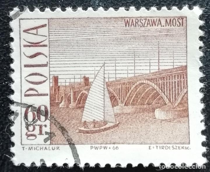 1966. POLONIA. 1559. PUENTE PONIATOWSKI EN VARSOVIA. USADO. (Sellos - Extranjero - Europa - Polonia)