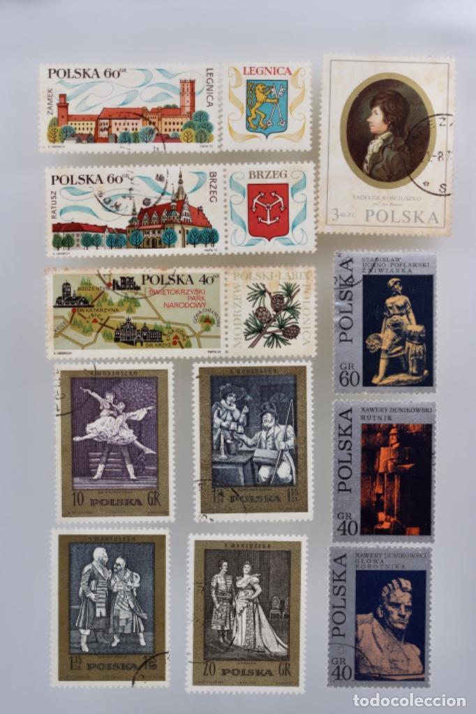 11 SELLOS DE POLONIA (Sellos - Extranjero - Europa - Polonia)