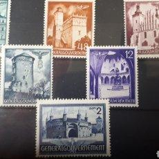 Francobolli: POLONIA OCUPACION ALEMANA NUEVOS AÑO 1940 C353. Lote 198066105