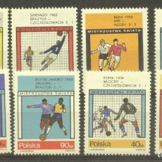 Timbres: POLAND 1966 SPORT WORLD CUP FOOTBALL MNH DE.074. Lote 198274598