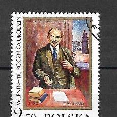 Sellos: LENIN (1870-1924). SELLO AÑO 1980. Lote 198740246