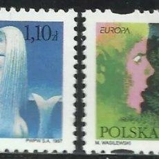 Sellos: POLONIA, MNH, CUENTOS Y LEYENDAS, EUROPA CEPT 1997 (FOTOGRAFÍA REAL). Lote 202631177