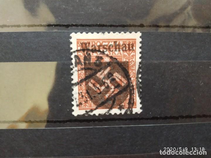 POLONIA VARSOVIA OCUPACION SEGUNDA GUERRA MUNDIAL WWII. (Sellos - Extranjero - Europa - Polonia)